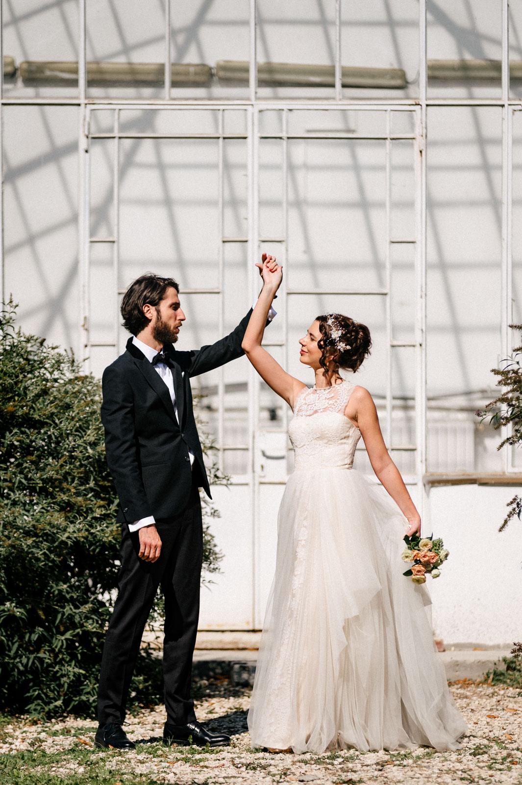 Sedinta foto de nunta la Palatul Mogosoaia