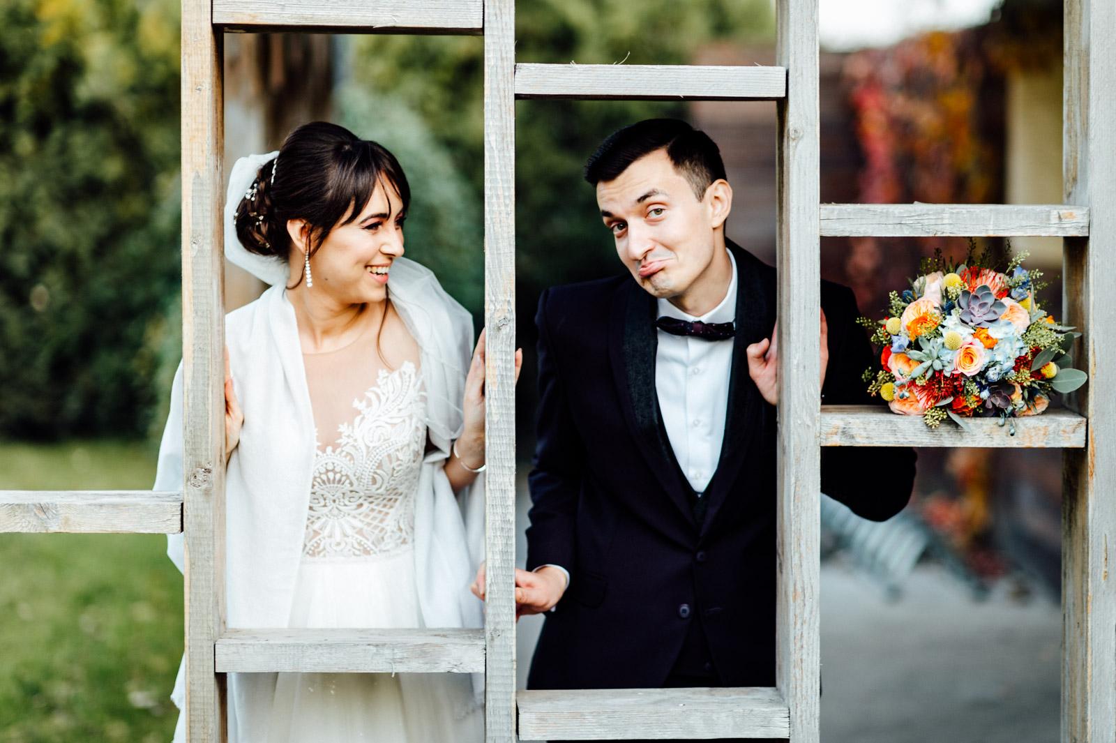 Fotografie documentara de nunta fotograf profesionist Dana Sacalov la Gradina Floreasca
