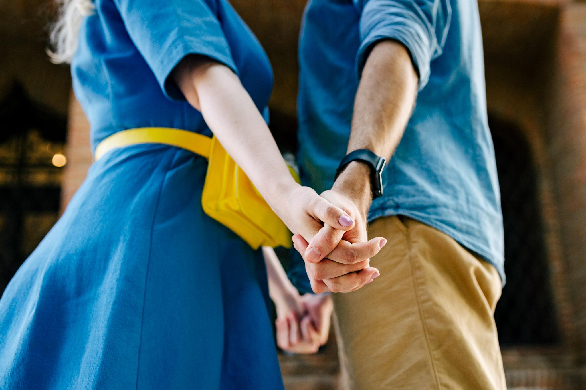 Sesiune foto de cuplu la Palatul Mogosoaia