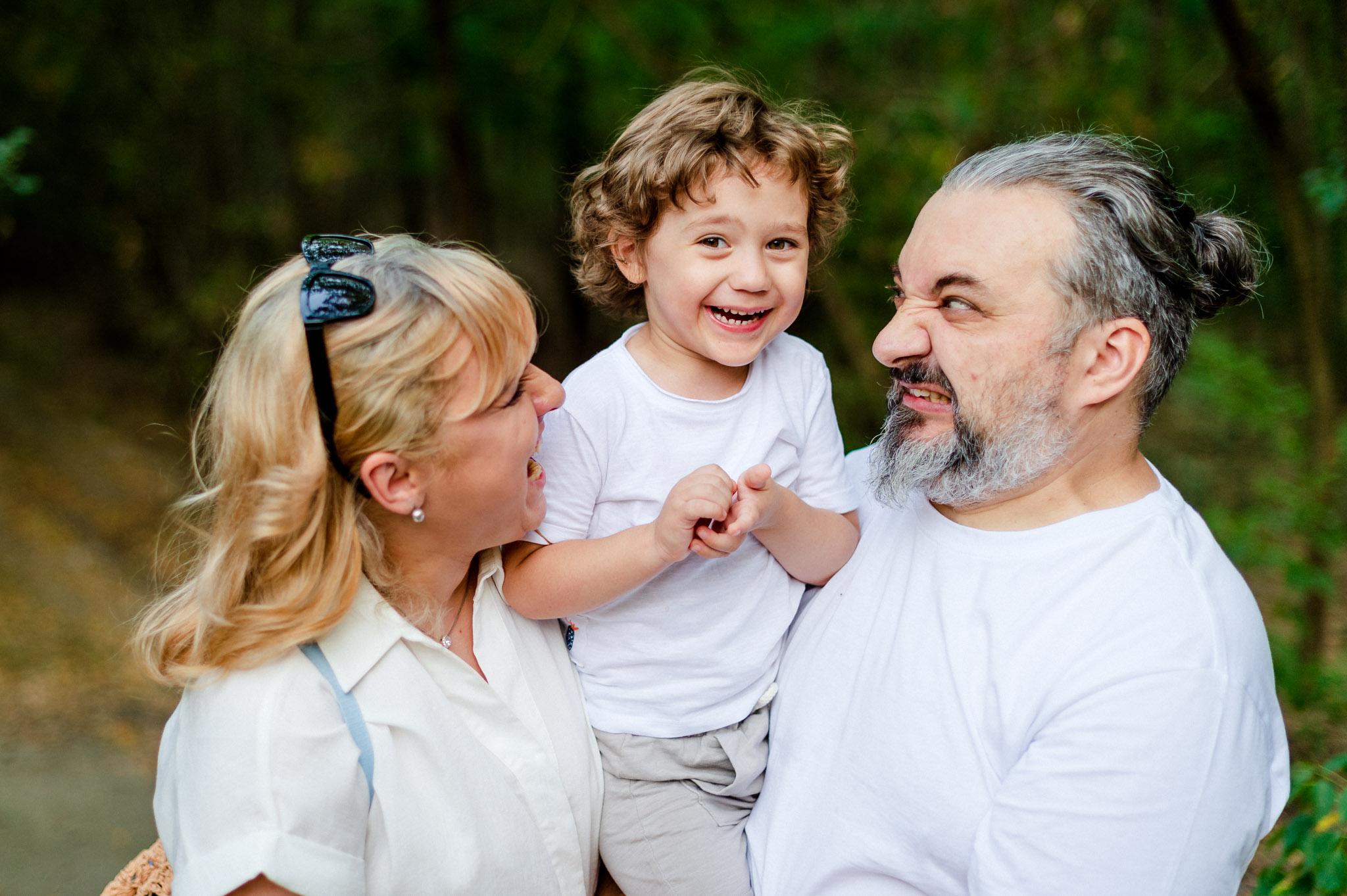 Fotografie de familie ~ Ramona, Ovi si Rares